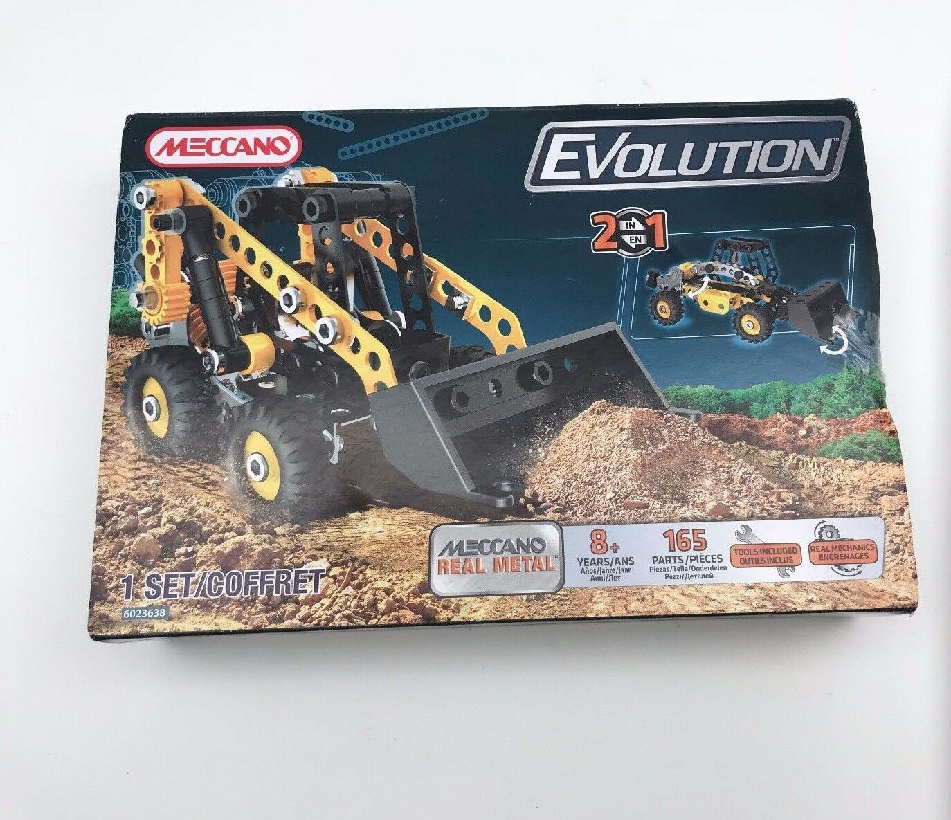 Meccano Erector Evolution Mini Loader