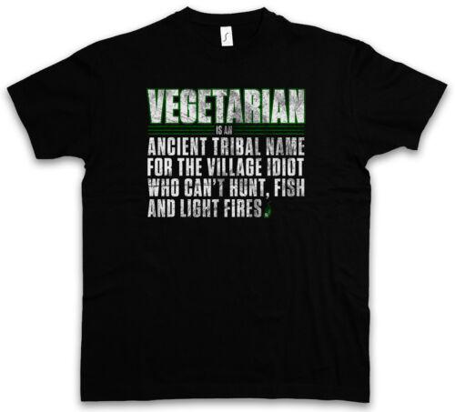 VEGETARIAN T-SHIRT Ancient Name Fun Vegan Vegetarian Vegetables