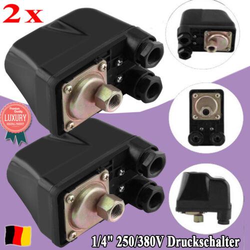 2x Druckschalter Pumpe Hauswasserwerk Strömungswächter Druckkessel 250//380V HC3