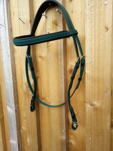 synthetic bridle biothane all colours// sizes matching reins PLAS EQUESTRIAN