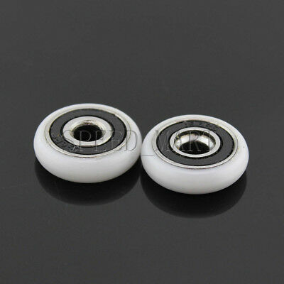 OD 18.5//20//23//25//27mm Ball Bearing Wheel Sliding Door Pulley Roller