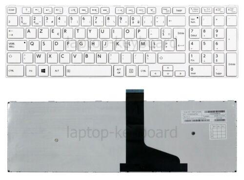 Français clavier keyboard Toshiba Satellite C50 C50D C55 C55D C55-A //TO155-FR2