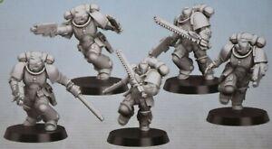 Warhammer 40k Primaris Assault Intercessors Squad of 5
