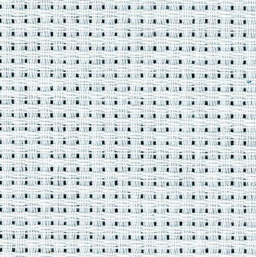 10 x 12 I Zweigart Pack of 5 White 6 Count Aida Binca Fat Quarter 25cm x 30cm