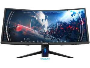 "Westinghouse WC34DX9019 34"" UWQHD 3440 x 1440 2K Resolution 100Hz 2xHDMI Display"