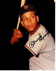 Vintage-Orlando-Cepeda-8x10-Baseball-Photo-Signed-Autographed-Auto-SF-Giants-HOF