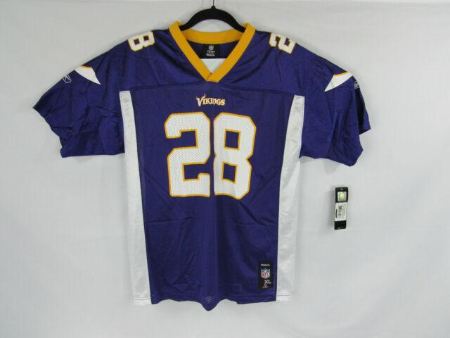Minnesota Vikings Peterson Jersey Boys XL 18-20 NFL Reebok