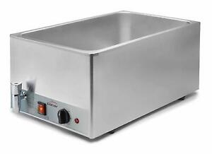 BAIN-MARIE-WET-WELL-TABLE-TOP-STAINLESS-STEEL-GN-1-1-1300w-200-230v-LACOR-69036