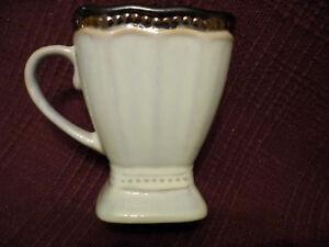 ROSCHER Hobnail Square Cream w/ Metallic mug NWT!!! | eBay