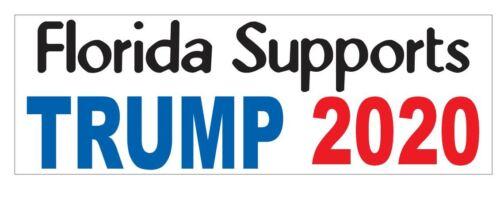 2020 Floride soutient Trump Autocollant ou Casque Autocollant D3705