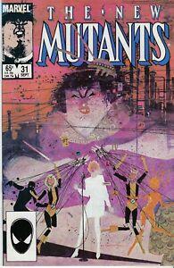 The New Mutants(Marvel-1983)#31 - Claremont-Story, Seinkiewicz-Art [VG/F]