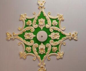 Yeso-Techo-Rosa-diseno-decoracion-del-hogar-Yeso-de-Paris-Estilo-Victoriano
