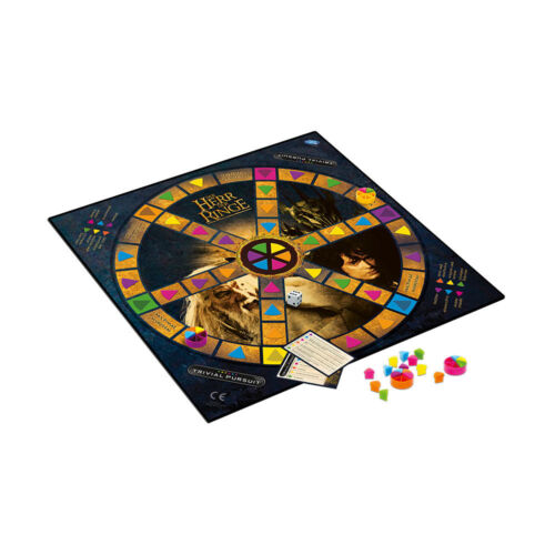 Trivial Pursuit HdR Herr der Ringe Collector/'s Edition Ratespiel Quiz Deutsch
