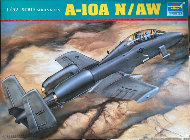 A 10 Warthog Double Seat 1 32 By Trumpeter Model Airplane 9580208022154 For Sale Online Ebay
