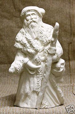 Ceramic Bisque Irish Old World Santa Kimple Mold 2065 U-Paint Ready To Paint