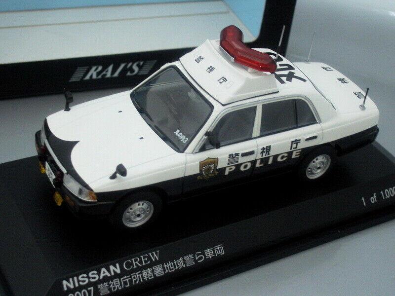hasta un 70% de descuento 1 43 RAI's Nissan Crew  Tokio     3 Patrol Coche 2007  estar en gran demanda