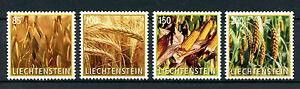 Liechtenstein-2017-neuf-sans-charniere-crop-plants-grain-ble-mais-mais-4v-set-stamps