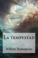 La Tempestad by William Shakespeare (2016, Paperback)