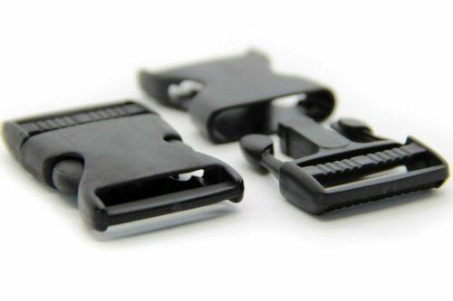 10 encajable 30mm steckschließer steckverschluss hebillas de cinturón