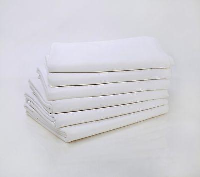 Percale Flat Sheet King Size T180 Cotton Rich