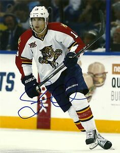Autographed-Scottie-Upshall-Florida-Panthers-8x10-Photo-2