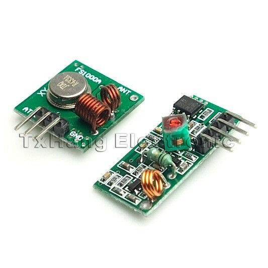 433Mhz RF transmitter and receiver link kit for Arduino/ARM/MCU  remote control