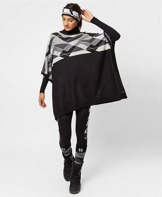 39a653384 Sweaty Betty Yeti Knit Poncho Black Sweater Knitted Top Ski Winter BNWT RRP  £185 5056001293267   eBay