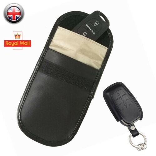 Bloqueador de señal 1PC Cerradura Auto clave contra robos de entrada sin llave FOB Petaca Billetera Bolsa reino unido