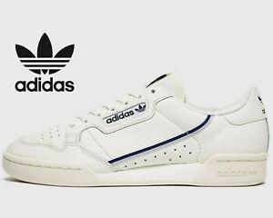2019-Adidas-Originals-Continental-80-Men-Sizes-UK-6-12-Off-White-Blue