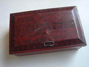 Antike Blechdose Made In Germany Dauer Stempelkissen