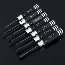 Hex Screw Driver Tools Kit Set 7pcs for Transmitter RC helicopter plane Car RX