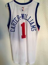Adidas SWINGMAN 14-15 NBA Jersey Philadelphia 76ers Mike Carter-Williams Wht 2X