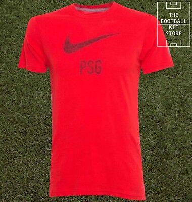 free shipping 5ac7b b3fd4 PSG Training T-Shirt - Official Nike Paris Saint Germain Football Tee -All  Sizes | eBay