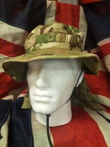 MTP-Camouflage-Bush-Hat-British-Army-Boonie-Jungle-Sun-Camo-Military-Surplus-UK