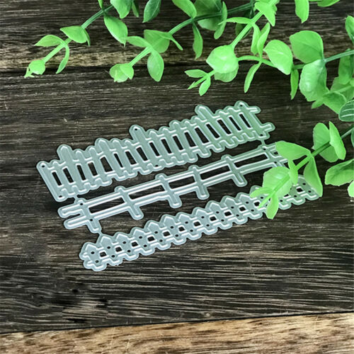 Railing Design Metal Cutting Die For DIY Scrapbooking Album Paper Cards L^