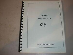Details about Toyoda GT52 CNC Lathe W/ Fanuc 15TA Parameters List