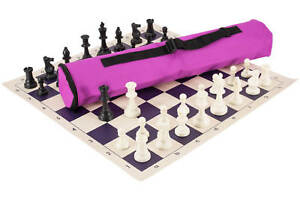 Tote Bag Purple Board Carry All Buenos New Chess