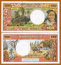 Sig 500 Francs ND New French Pacific Territories 2014 P-5 UNC /> Flowers