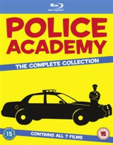 Steve Guttenberg, Kim Cattrall-Police Academy 1-7 Blu-ray NEW