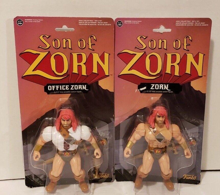 2 NEW ZORN FUNKO SON OF ZORN NEW & OFFICE ZORN 5 1 2