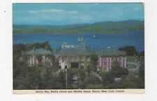 Bantry Bay Bantry House & Whiddy Island West Cork Ireland 1979 Postcard 876a