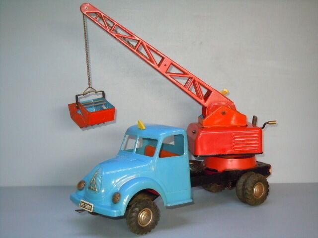 Magirus Kranwagen van Seidel Germany