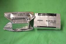 COPPIA Genuine Epson inchiostro 1 x s020089 s020191 t0520 & 1 x s020108 s020189 t0511