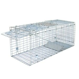 32-034-x-12-5-034-Humane-Animal-Trap-Steel-Cage-Live-Rodent-Control-Skunk-Rabbit-Rodent