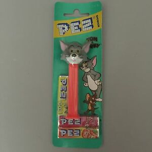 Pez-Tom-and-Jerry-034-Tom-Cat-034-Dispenser-Mint-Condition-on-EURO-card-circa-1980s