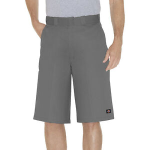 Dickies-Gris-travail-court-42283-33cm-coupe-ample-multi-poche-Tailles-30-to-44