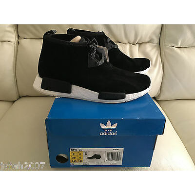ADIDAS NMD RUNNER C1 CHUKKA BLACK SIZE UK 6 LIMITED EDITION