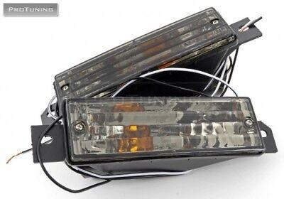 for bmw e30 smoked front indicators turn signal lights. Black Bedroom Furniture Sets. Home Design Ideas