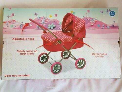 Chad Valley BAMBINI AMORE PER IL MIO PRIMO DOLL/'S Pieghevole carrozzina rosa regalo ragazze Toys