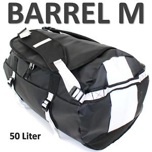 Base-Camp-Packsack-BARREL-M-Schwarz-Rucksack-Tasche-Reisetasche-LKW-Plane-vds5